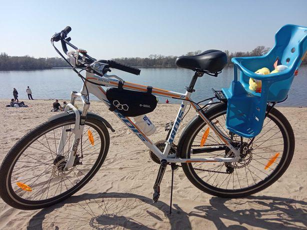 Велосипед с детским велокреслом. Велосипед з дитячим кріслом Ardis