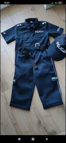 Stroj karnawalowy policjant