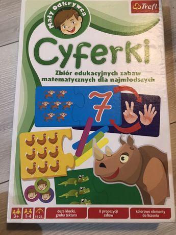 Gra /puzzle cyferki