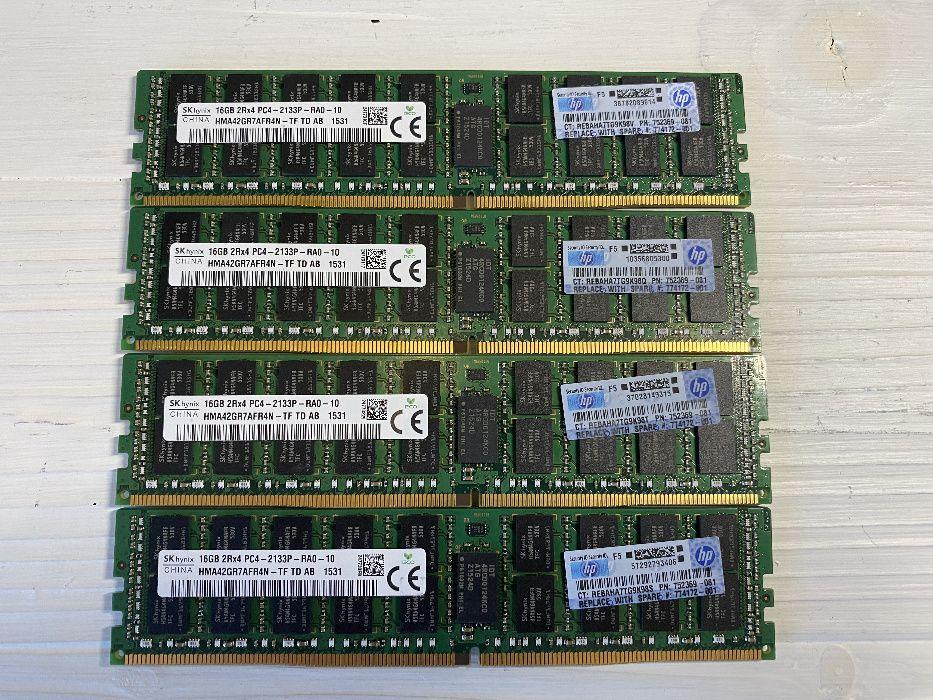 Комплект памяти Hynix DDR4 64Gb (4 x 16Gb) 2133p (HPE Smart) Киев - изображение 1