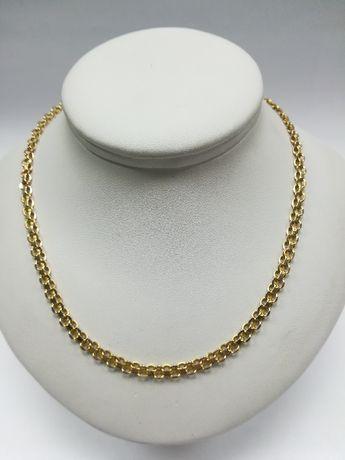 Złoty łańcuszek złoto 585 Bismark