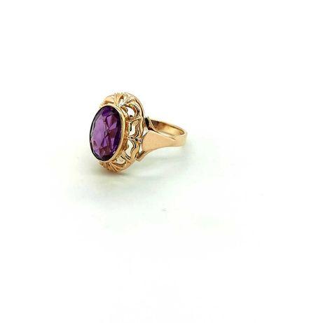 Złoty pierścionek 4,20 gr pr 500 rozm.19
