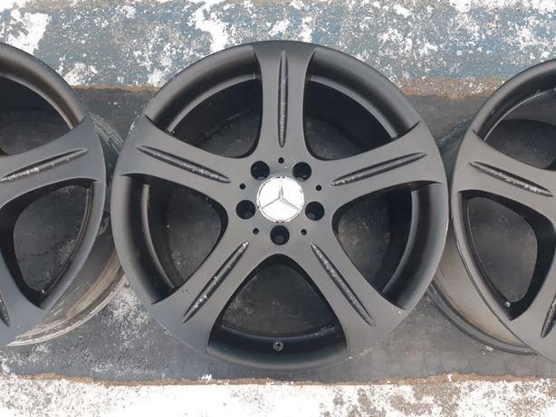 Goavto диски Mercedes Benz 5/112 r18 et28 et18 8.5j dia66.6 в хорошем