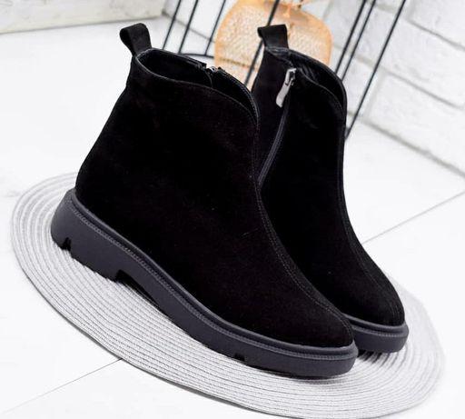 Новые Демисезонные женские ботинки 38р
