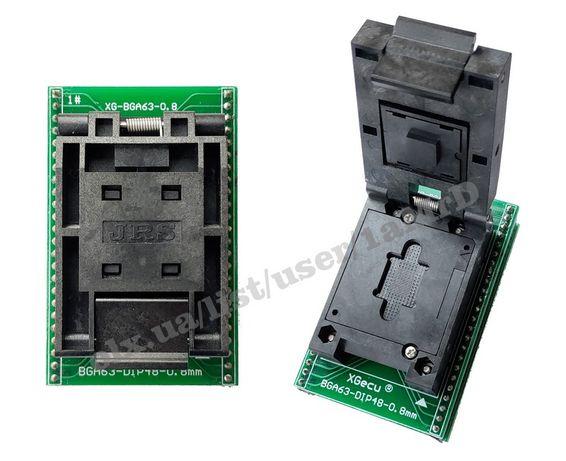 BGA адаптеры для RT809H, Xgecu T56 /BGA153 BGA169 BGA63 BGA64