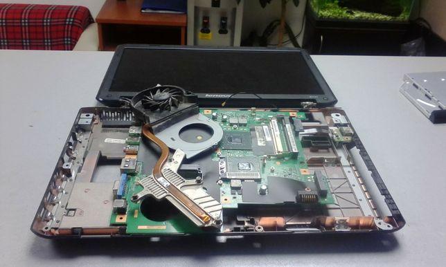 Чистка, профілактика ноутбуків.Заміна деталей ноутбуків.Зам.термопасти