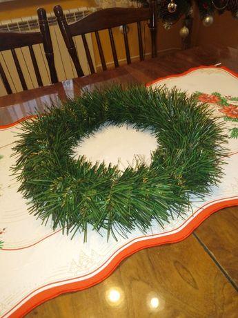wianek świąteczny stroik rogal producent