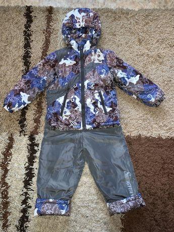 Комбинезон весенний комбенизон осень курточка полукомбинезон на 3 г