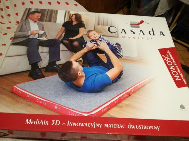 Sprzedam nowy materac 3d mediair casada