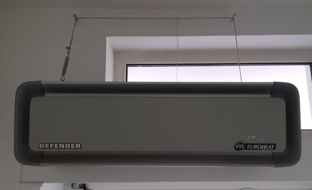 Kurtyna powietrzna z nagrzewnicą elekt.-EUROHEAT Defender EHN 100 6 kW