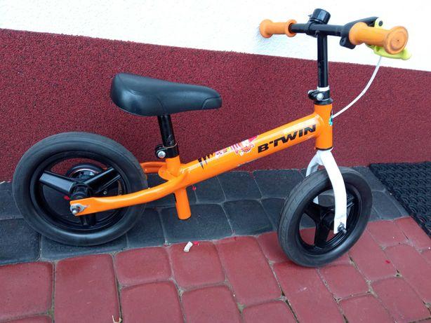"""Rowerek biegowy z hamulcem dzwonek Run Ride 520 Cruiser 10"""" dla dzieci"""