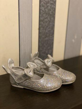 Блестящие туфельки (серебряные)