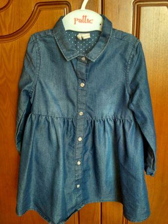 Джинсовое платье H&M/Джинсовый сарафан H&M/сукня