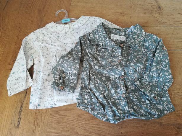 Koszule koszulki dla dziewynki Zara 68