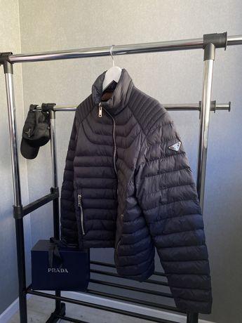 Мужская куртка микропуховик prada