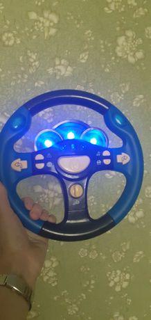 Руль дитячий світло- музичний