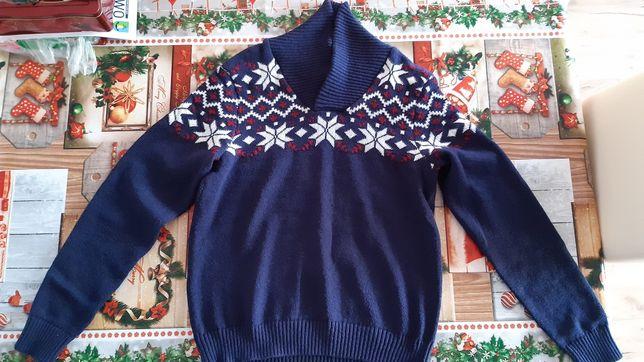 Sweter męski świąteczny rozm M