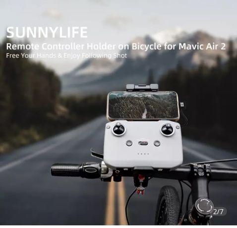 suporte controle remoto da bicicleta para dji mavic air 2 mavic mini 2
