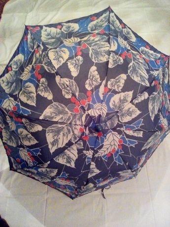Зонтик женский, 3 цвета, складной
