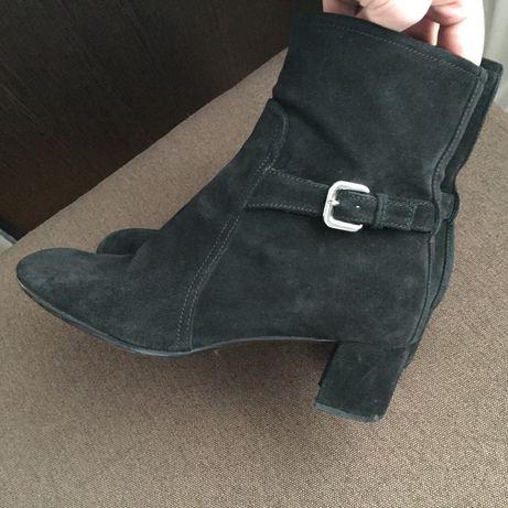 Замшевые ботинки Prada, оригинал, 37