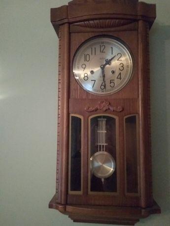 Zegar drewniany z wahadłem. Piękny. Stan idealny.