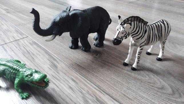 Zestaw figurek zwierząt (kolekcja z Lidla)