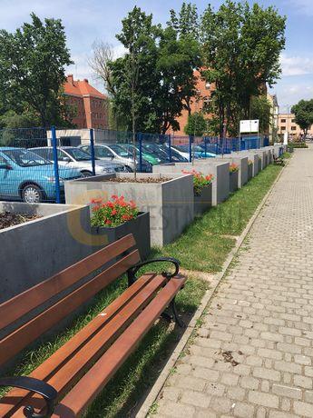 Donica betonowa ogrodowa SLABB Tazza 120x120x100 - Duży wybór donic