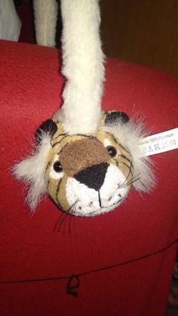игрушка тирг тигренок на ушки типа обруч плюшевый