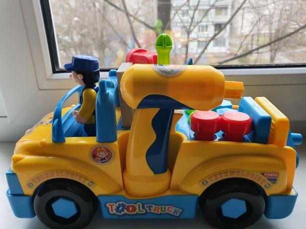 Машина-ремонтная мастерская Huile Toys
