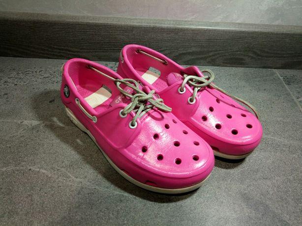 Crocs туфельки на девочку 7-8 лет