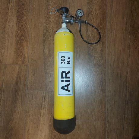 Butla 4litry 300/450 Bar nurkowa PCP HP sprężone powietrze