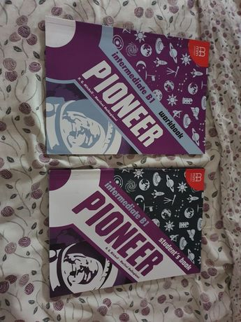 Pioneer fioletowy b1 podręcznik ćwiczenia komplet
