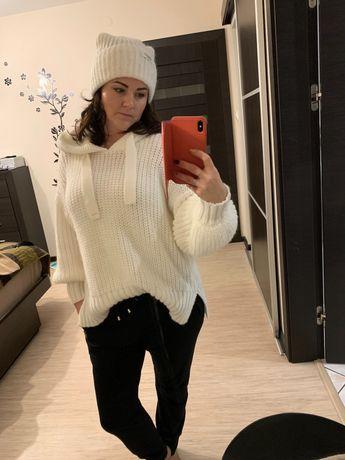 Sweterek czapka by o la la nowe