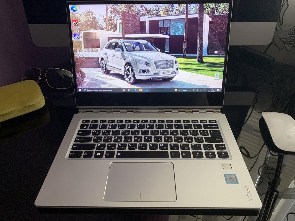 Премиальный Ноутбук LENOVO YOGA(Intel Core i7-7500(3.5)ОЗУ 8GB/SSD256)