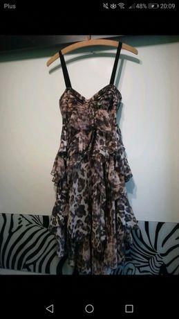 Sukienka H&M w panterkę