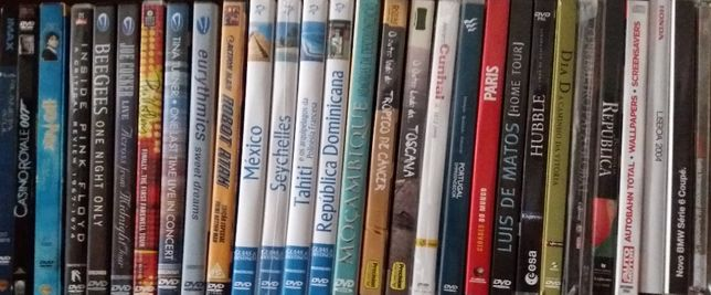 DVD Diversos filmes/Turisticos/Históricos