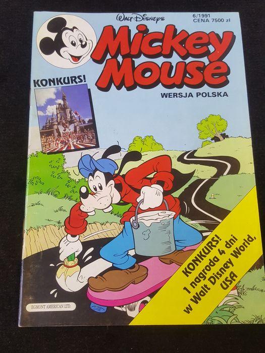 Mickey Mouse. Nr. 6/1991. Komiks Morąg - image 1