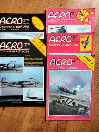 Czasopismo Aero technika lotnicza 5szt