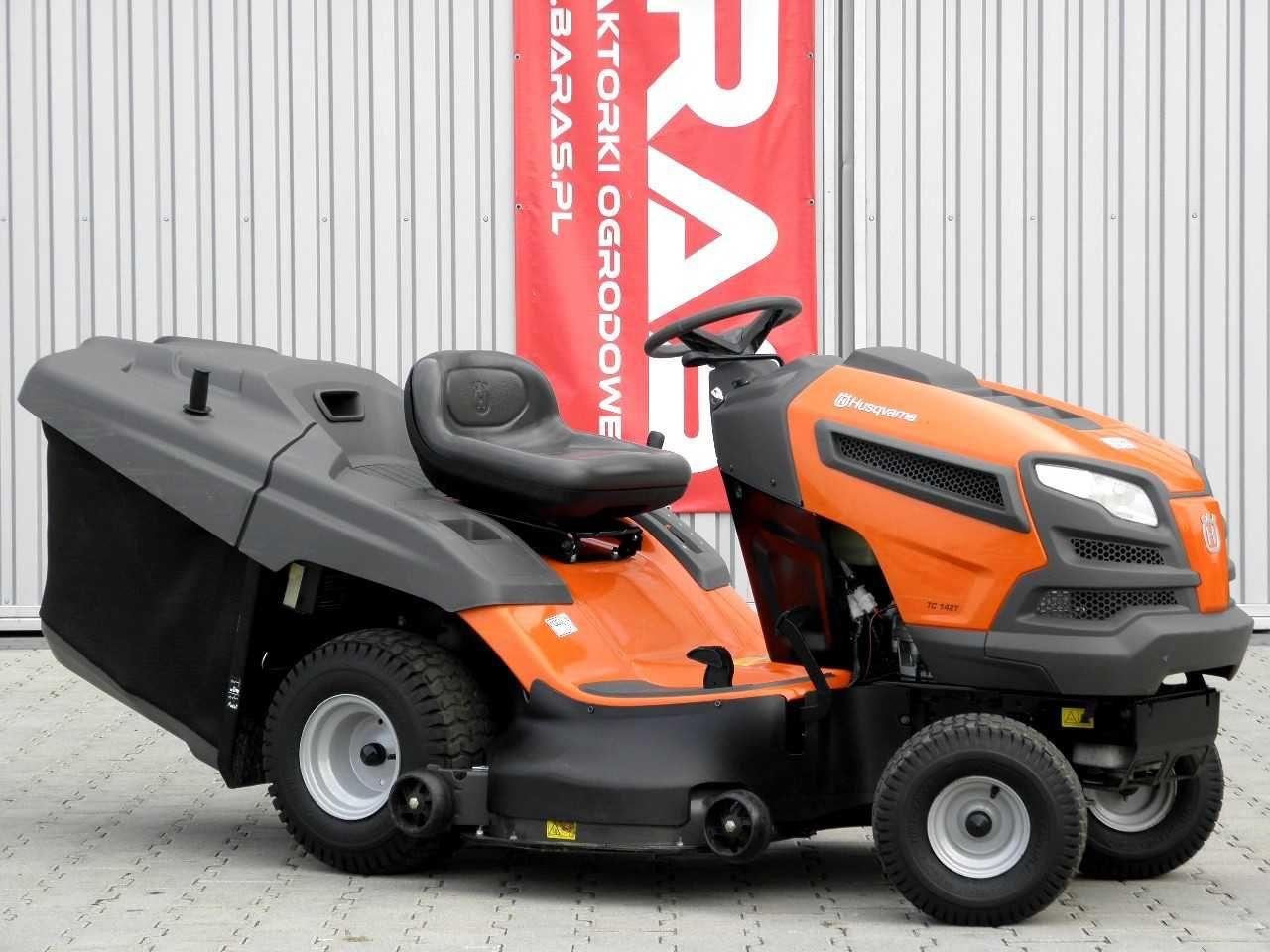 Traktorek kosiarka Husqvarna TC142T (071004) - Baras