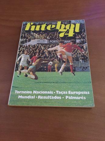 Livro de futebol do ano 1974