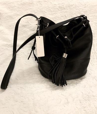 Torebka/ torba czarny worek CCC Jenny Fairy nowa