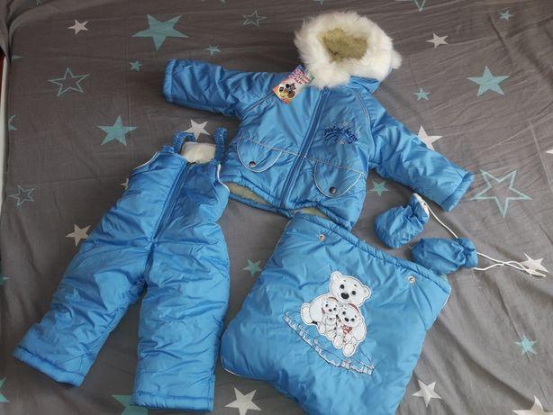Продам зимний детский комбинезон