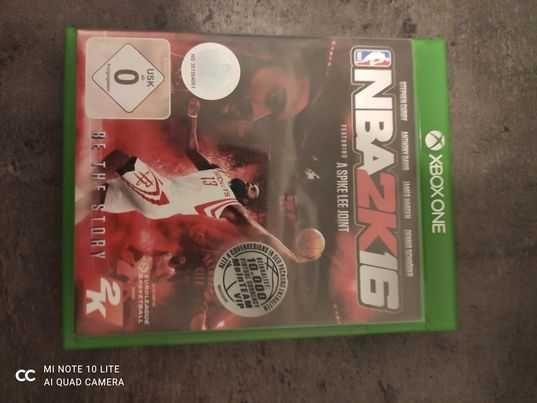 Gra NBA2k16 xbox