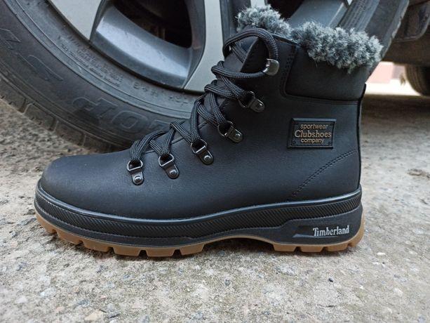 Зимние тёплые кожаные ботинкиEcco t- 49 Высылаем БЕЗ ПРЕДОПЛАТ