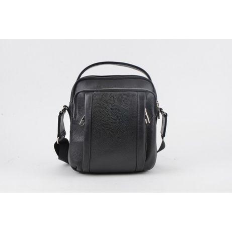 Мужская кожаная сумка Giorno черный 2002422