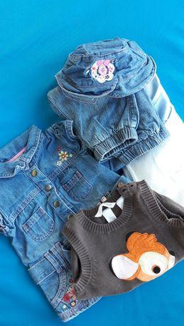 Zestaw ubranek dla dziewczynki od 3-9 m-cy NEXT H&M George
