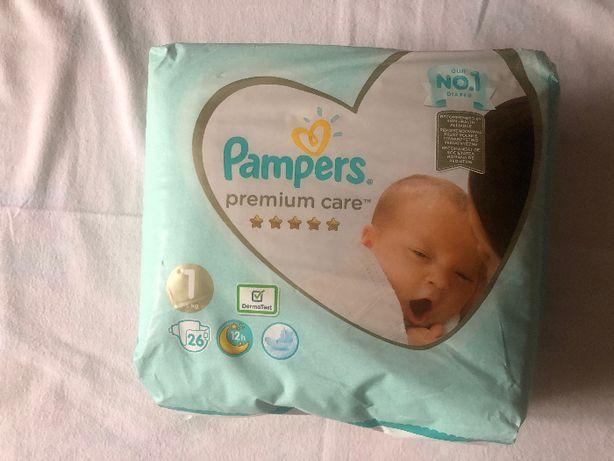 Подгузники Памперсы Pampers Premium Care Размер 1 (2-5 кг) 26 шт