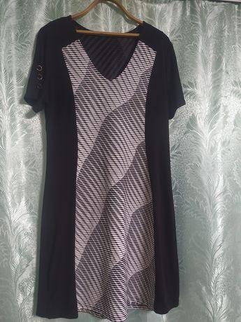 Сукня чорно біла жіноча