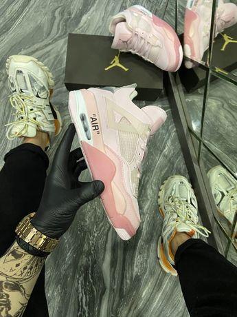 Кроссовки Nike Air Jordan 4 Pure Pink | кросівки найк Женские