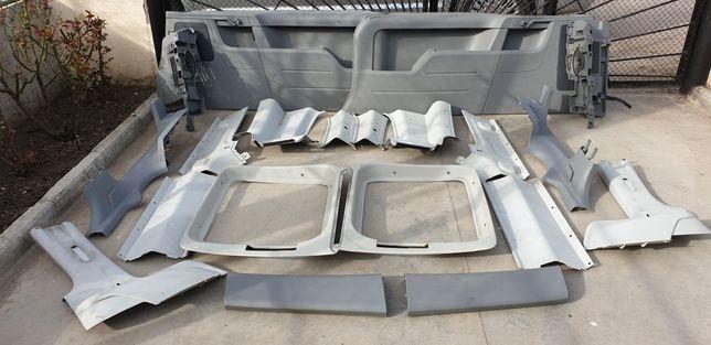 Пластик салона а/м VW Caddy LIFE MAXI
